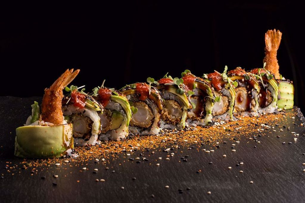 Picture of Spicy Green Dragon Roll