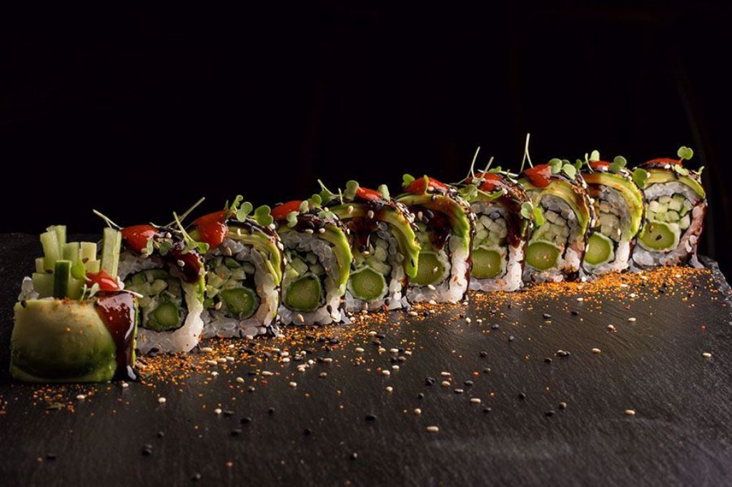 Picture of Spicy Dragon Veggie Roll