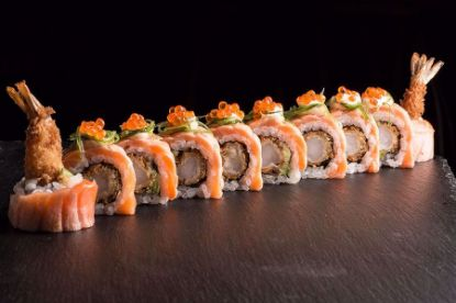 Picture of Orange Dragon Roll
