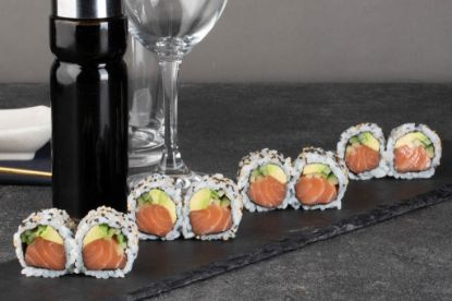 Picture of Salmon roll uramaki