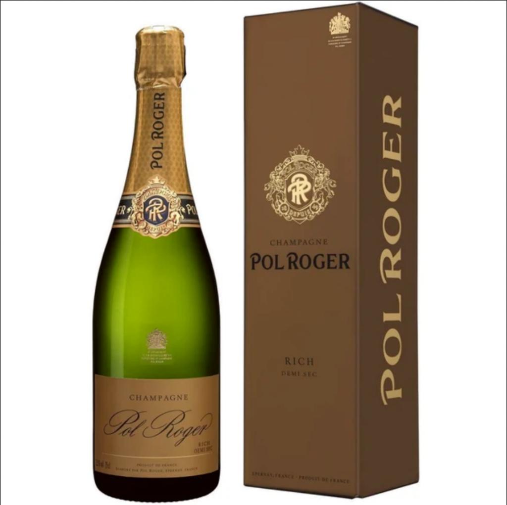 Champagne Pol ROger Demi Sec