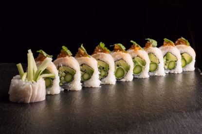 Picture of White Dragon Roll
