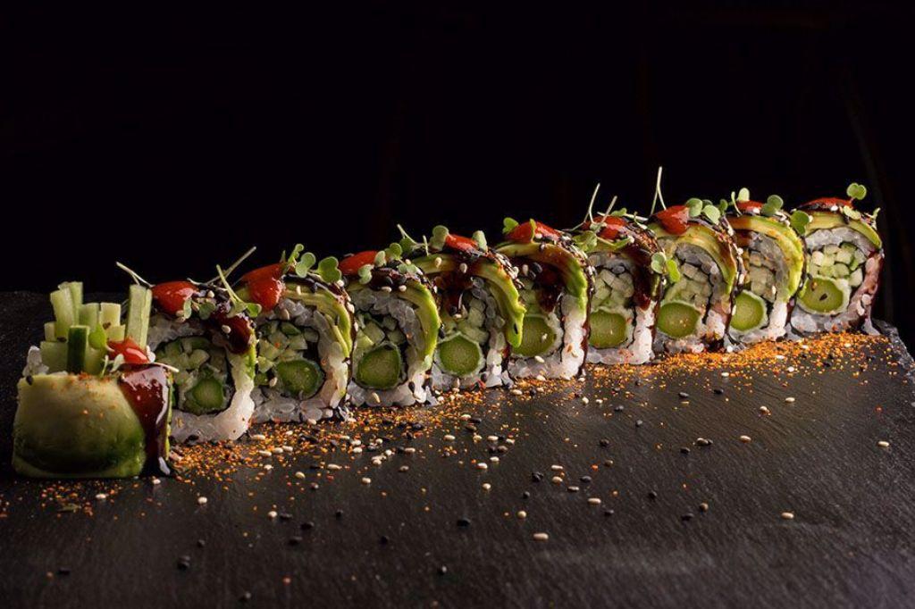 Billede af Spicy Dragon Veggie Roll