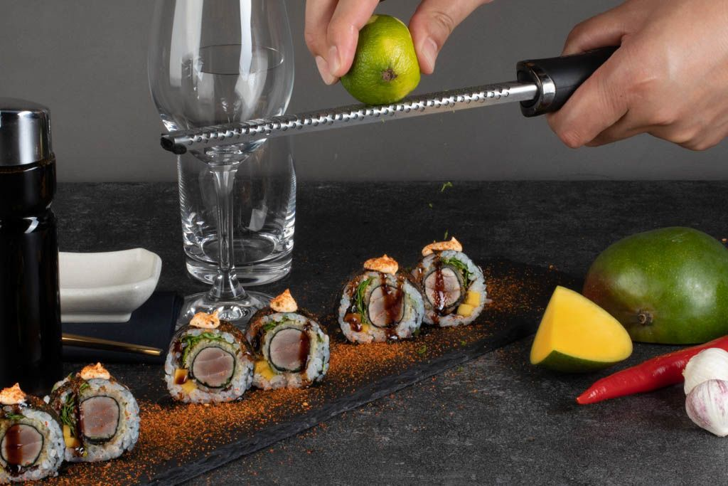 Billede af Spicy Tuna tempura futomaki