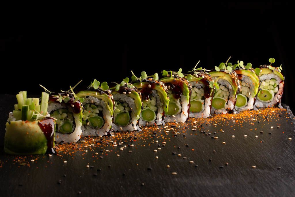 Picture of Dragon Veggie Roll